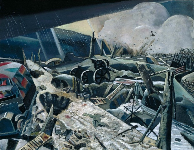 Crisis of Brilliance - Paul Nash The Void Photo courtesy of MBAC, Tate London