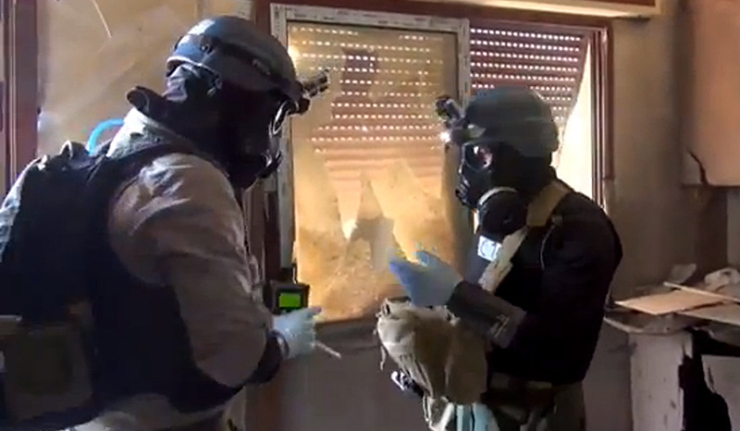 Chemical Weapons Inspectors Iraq